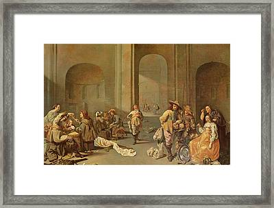 Depositing The Spoils Framed Print by Jacob Duck