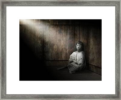 Depression Framed Print by Daniel Hagerman