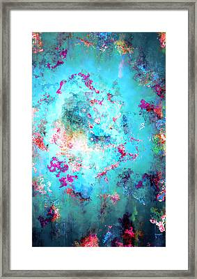 Depths Of Emotion - Abstract Art Framed Print by Jaison Cianelli