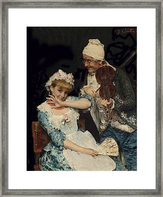 Der Muskiant Framed Print by Federico Andreotti
