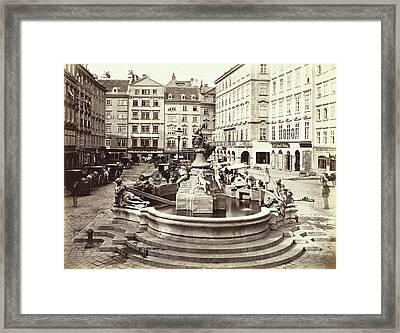 Der Neue Market, Miethke & Wawra Framed Print by Artokoloro