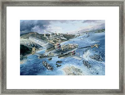 Derailing The Tokyo Express Framed Print by Randy Green