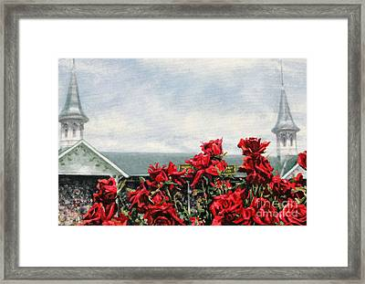 Derby Day Framed Print by Thomas Allen Pauly