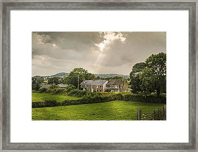 Derbyshire Cottages Framed Print by Amanda And Christopher Elwell