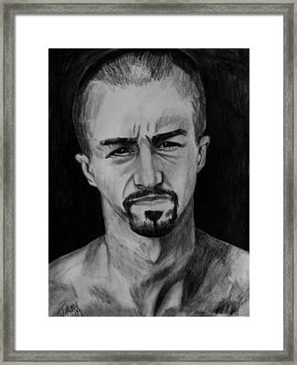 Derek 2 Framed Print by Jeremy Moore