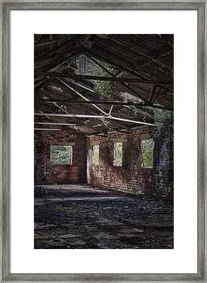 Derelict Building Framed Print by Amanda And Christopher Elwell