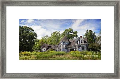 Derelict House Framed Print by Jane Rix