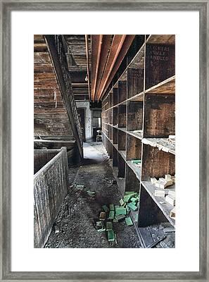 Derelict Industrial Factory Framed Print by Russ Dixon