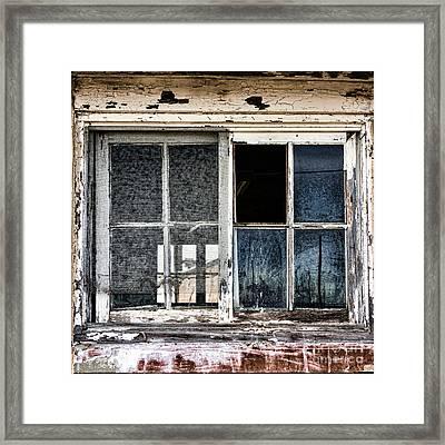 Derelict Framed Print by Olivier Le Queinec
