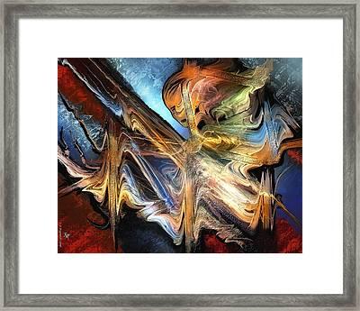 Derobade Framed Print by Francoise Dugourd-Caput