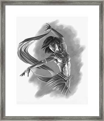Dervish Framed Print by Bryan Syme
