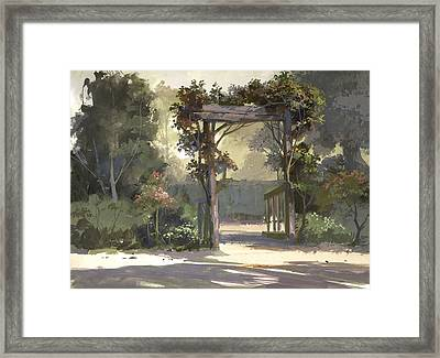 Descanso Gardens Framed Print by Michael Humphries
