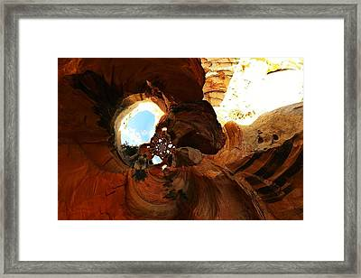 Desert Abstract Framed Print by Jeff Swan