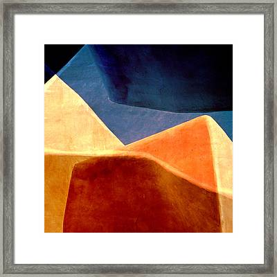 Desert Dunes Number 2 Framed Print by Carol Leigh