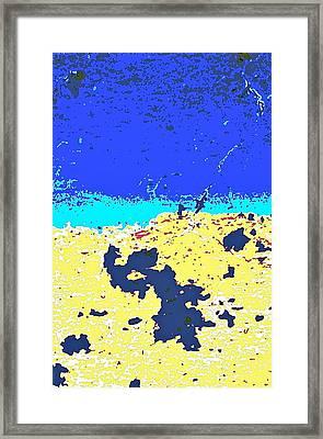 Desert Horizon Framed Print by Charles Rayburn