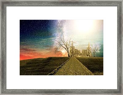 Desert Kingdom  Framed Print by Ally  White
