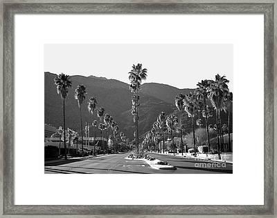 Desert Living Framed Print by Art K