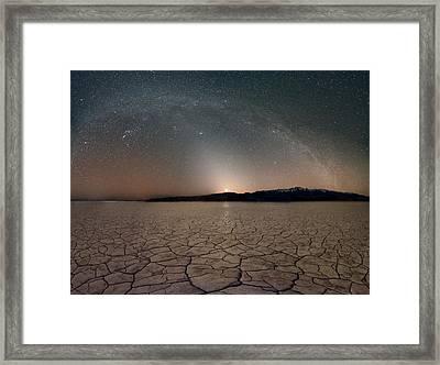 Desert Night Framed Print by Leland D Howard
