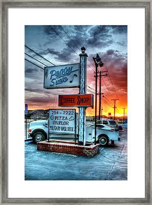 Desert Stop Framed Print by Steve Parr