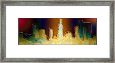 Desert Sunset Framed Print by Paula Ayers