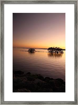 Deserted Island Framed Print by AR Annahita
