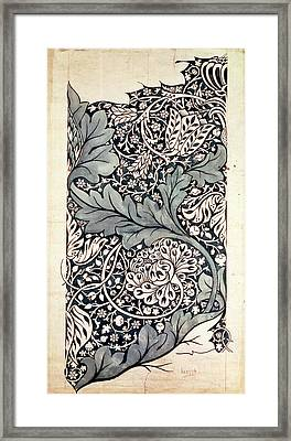 Design For Avon Chintz Framed Print by William Morris