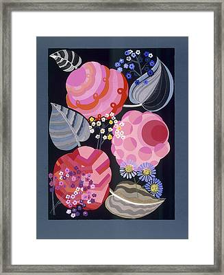 Design From Relais, C.1920s-1930 Framed Print by Edouard Benedictus