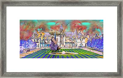 Designer's World Framed Print by Betsy Knapp