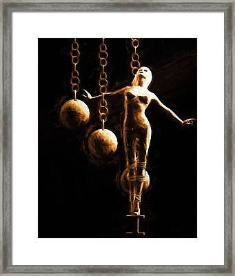Desire Framed Print by Bob Orsillo