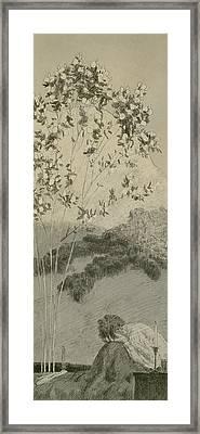 Desires Framed Print by Max Klinger