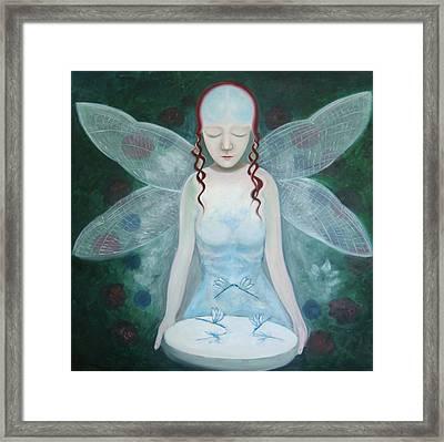 Desmoiselle Libellule Framed Print by Tone Aanderaa