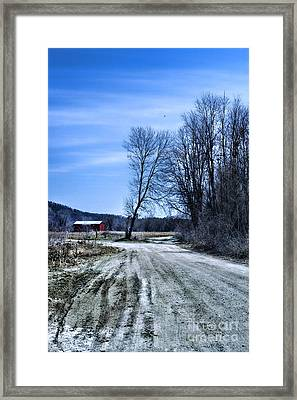 Desolate Road Framed Print by HD Connelly