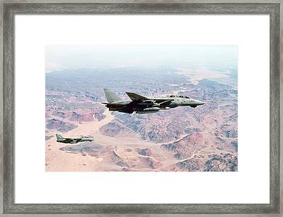 Desolation Angels Framed Print by Peter Chilelli