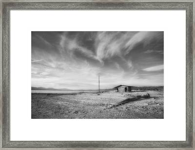Desolation Framed Print by Hugh Smith