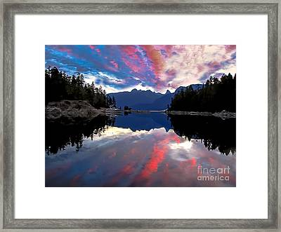 Desolation Sound Framed Print by Robert Bales