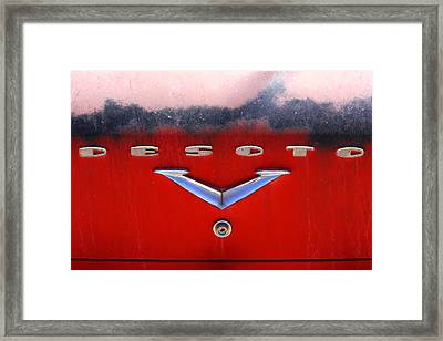 Desoto Framed Print by Mike McGlothlen