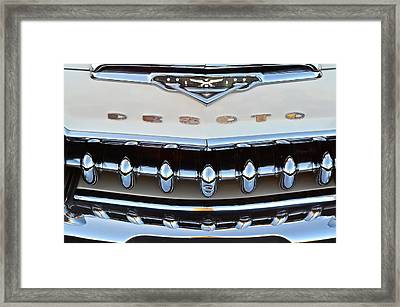 Desoto Framed Print by Frozen in Time Fine Art Photography