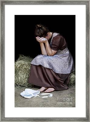 Despair Framed Print by Stephanie Frey
