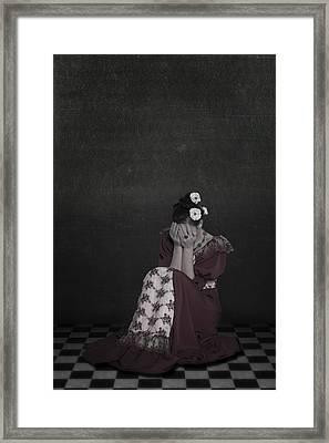 Desperate Framed Print by Joana Kruse