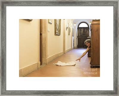 Desperate Framed Print by Mats Silvan