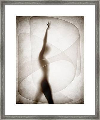 Despite Framed Print by Gun Legler