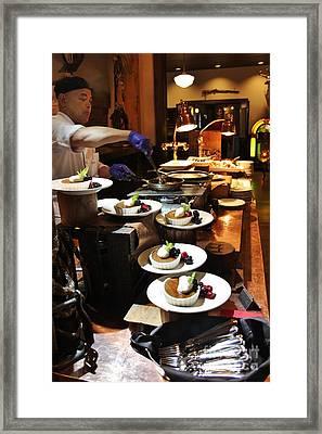 Dessert Bar Framed Print by Laura Paine