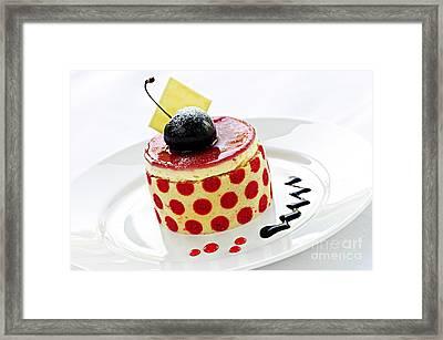 Dessert Framed Print by Elena Elisseeva