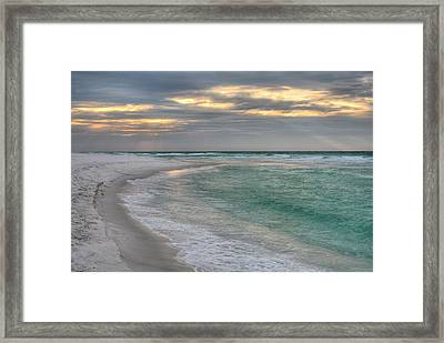 Destin And The Emerald Coast Framed Print by JC Findley