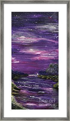 Destination Framed Print by Regina Wirsich Roberts