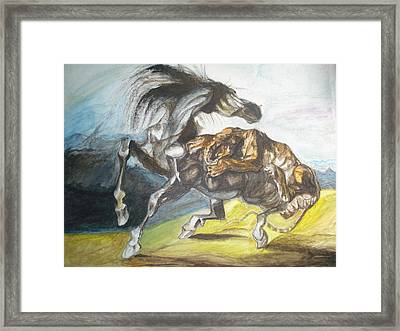 Destiny Framed Print by Prasenjit Dhar
