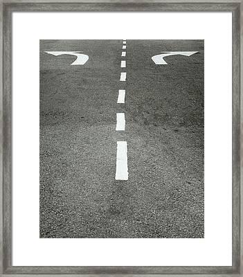 Destiny Framed Print by Shaun Higson