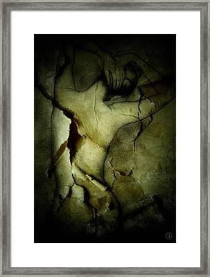 Destroying A Beautiful Memory Framed Print by Gun Legler
