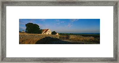 Detached House Near The Ocean, Faro Framed Print by Panoramic Images