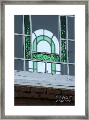 Details In Green At St. John Framed Print by Jennifer Apffel